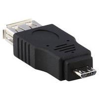 01-08-226. Переходник гнездо USB тип A - штекер micro USB
