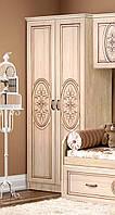 Шкаф двухдверный 800 Василиса со штангой Береза