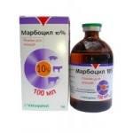 Марбоцил 10%, 100мл, Vetoquinol (только по предоплате)