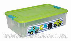 "Алеана Контейнер ""Smart Box"" с декором 14л. My car"