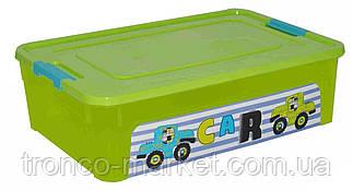 "Алеана Контейнер ""Smart Box"" с декором 14л. My car, фото 2"