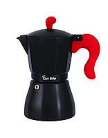 Гейзерная кофеварка Con Brio CB-6606 300 ml