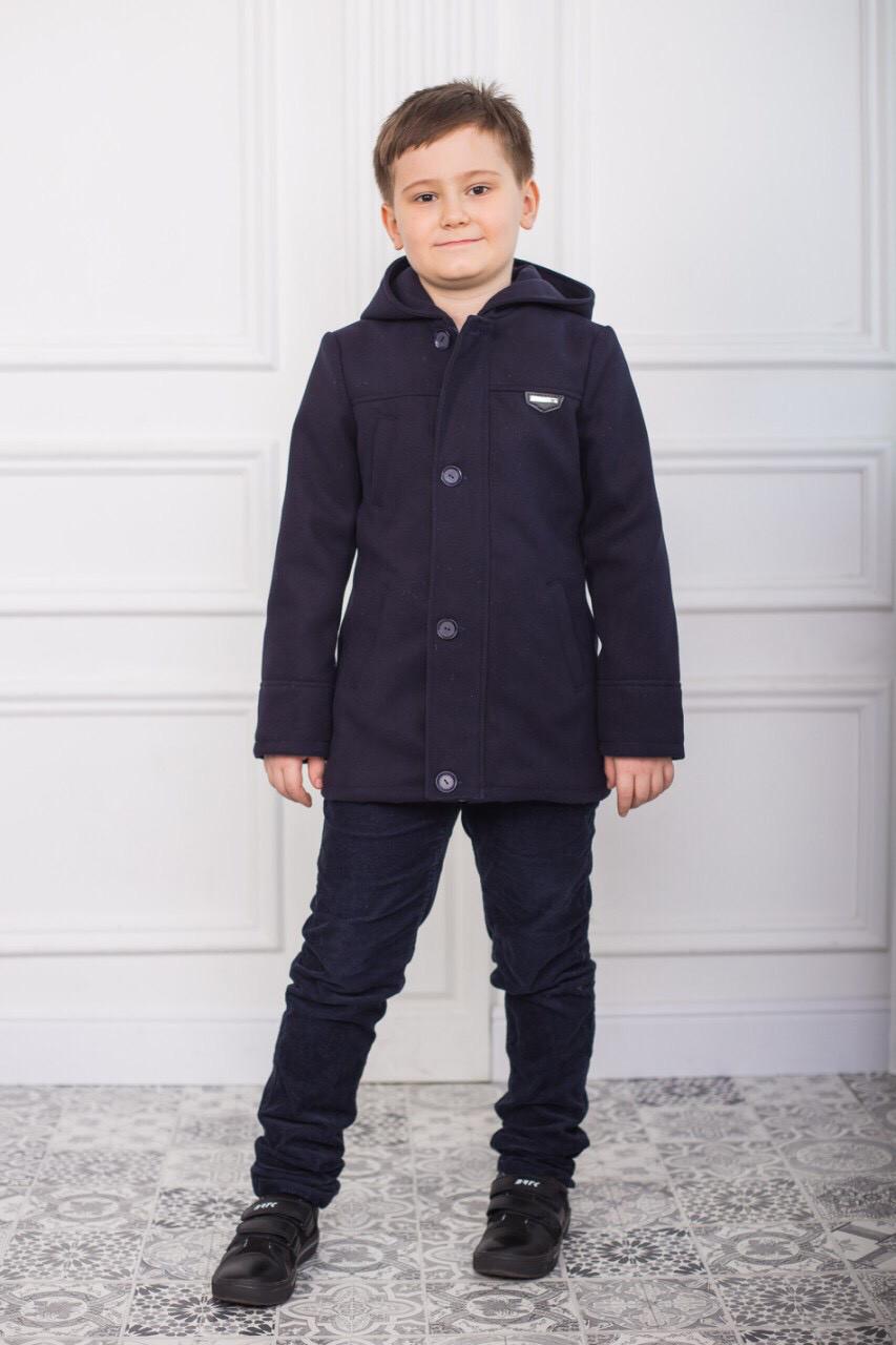 Детское кашемировое пальто для мальчика Орест, 122-146
