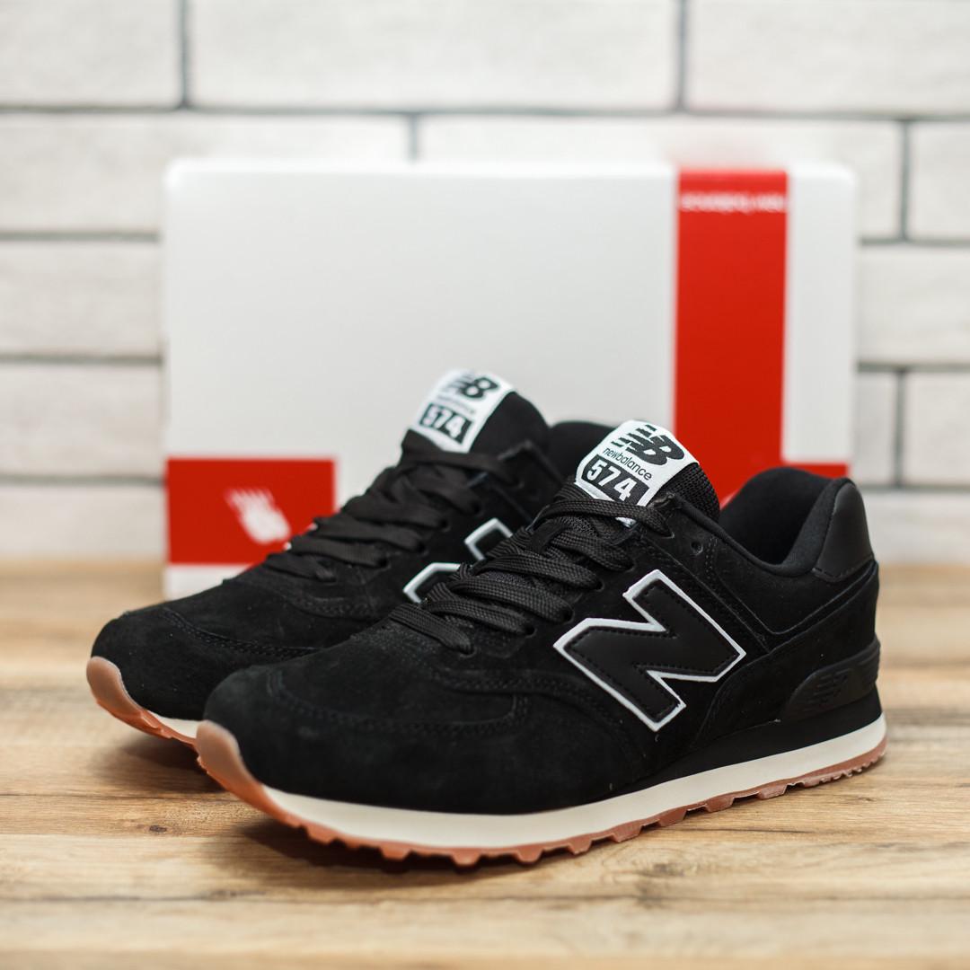 Мужские New Balance 574 Classic черные кроссовки 8bcf32d5b49e0