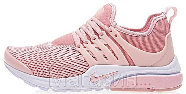 Женские кроссовки Nike Air Presto Pink (в стиле Найк Аир Престо) розовые ded5c41979c