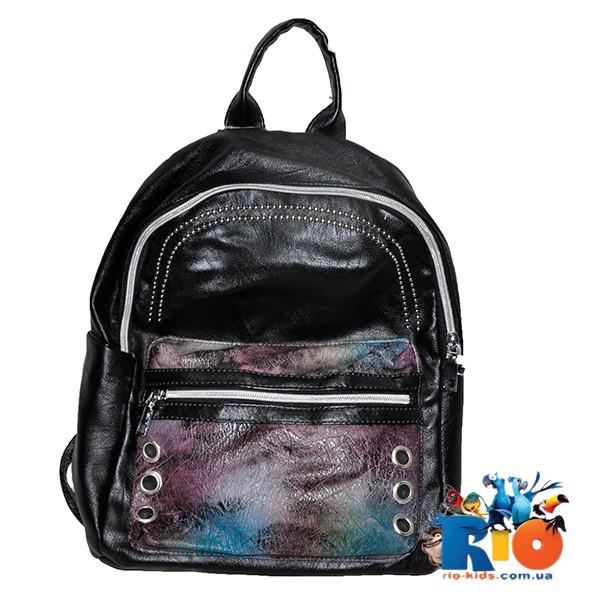 Школьная сумка (рюкзак) 35х30 см, из эко-кожи(мин.заказ-1 ед)