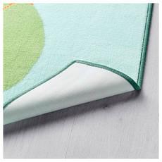 ЛАТТО Ковер, короткий ворс, разноцветный, 120x160 см 50357808 IKEA, ИКЕА, LATTJO, фото 3