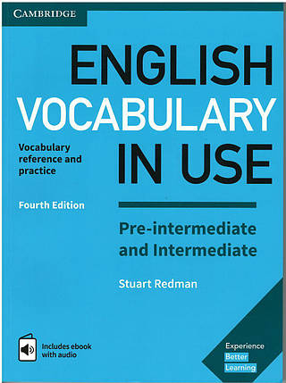 English Vocabulary in Use 4th Pre-Intermediate/Intermediate with answers and eBook, фото 2