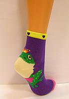 Цветные детские носки с объёмным рисунком