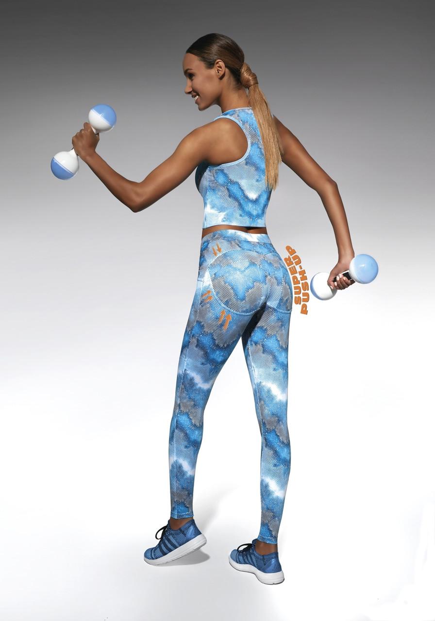 Спортивные женские легинсы BasBlack Energy (original), лосины для бега, фитнеса, спортзала SportLavka