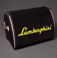 Автомобильный органайзер сумка в багажник Lamborghini L 25 л черный