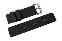 Каучуковый ремешок для часов K2200BL-01 22 мм | Черный