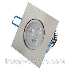 Светильник точечный ELENA - 3 Вт  LED (HL672L) 2700K