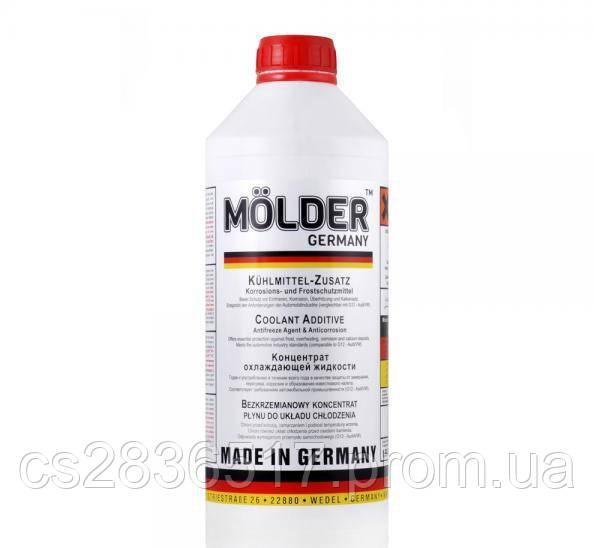 Антифриз G12 красный концентрат -80°C 1.5л MOLDER
