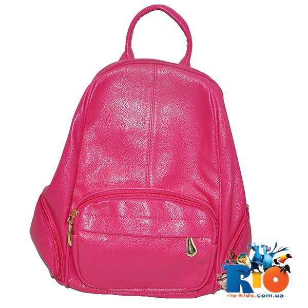 Школьная сумка (рюкзак) 36х26 см, из эко-кожи(мин.заказ-1 ед)