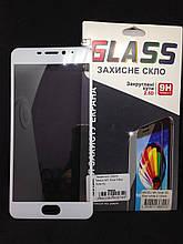 Защитное стекло Meizu M5 Note White