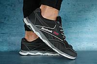 Мужские кроссовки Reebok Черный/Серый 10679 Реплика