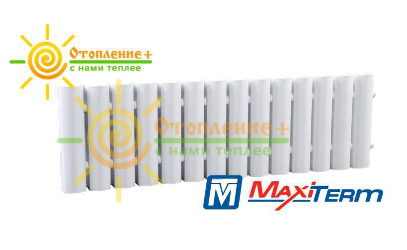Радиатор MaxiTerm КСМ-1-800 стальной, трубчатый, боковое подключение