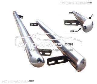 Защитные боковые подножки трубы для Audi Q3 2014--... , Ø 42 \ 51 \ 60 мм