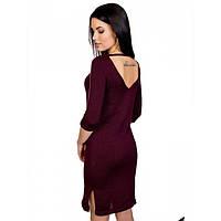 Вязаное платье прямого силуэта, фото 1