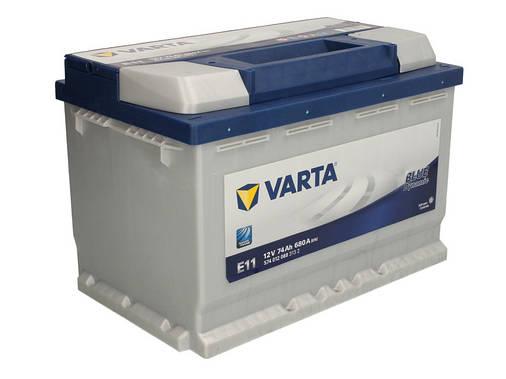 Аккумулятор VARTA BD 74Ah EN680 R+ (E11), фото 2