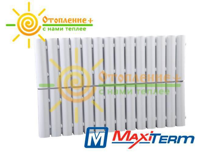Радиатор MaxiTerm КСМ-2-1400 стальной, трубчатый, боковое подключение