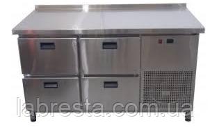 Холодильный стол на 4 ящика (1400х700 мм) Tehma
