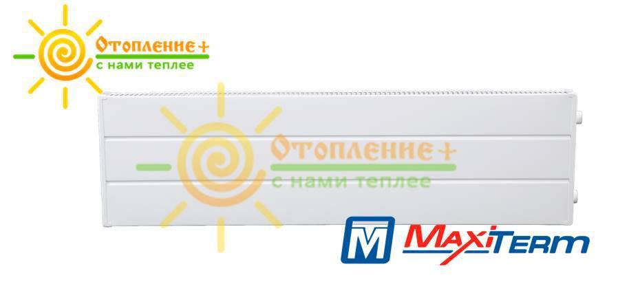 Радиатор MaxiTerm КСК-1-800 стальной, трубчатый, боковое подключение