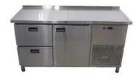 Холодильный стол 1 дверь и 2 ящика (1400х600 мм) Tehma