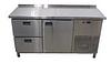 Холодильный стол 1 дверь и 2 ящика (1400х700 мм) Tehma