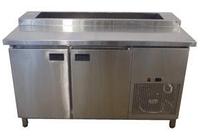 Стол холодильный саладетта для пиццы Tehma (1400х700 мм) нерж