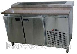 Стол холодильный саладетта для пиццы Tehma (1400х700 мм) гранит