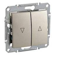 Выключатель жалюзи с электр. блокировкой Титан Sedna Schneider, SDN1300168