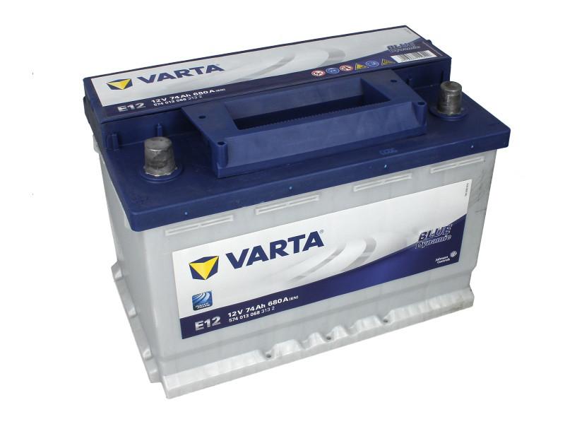 Аккумулятор VARTA BD 74Ah EN680 L+ (E12)