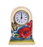 "Фарфоровые настольные часы ""Цветущий сад"" Pavone JP-852/12"
