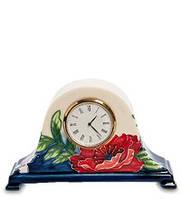 "Фарфоровые настольные часы ""Цветущий сад"" Pavone JP-852/13"