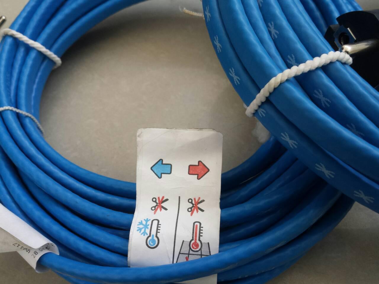 Кабель нагревательный (Германия) для защиты труб от замерзания ( 28 м )  - ИНТЕРНЕТ-МАГАЗИН  АНТАРЕС в Тернополе
