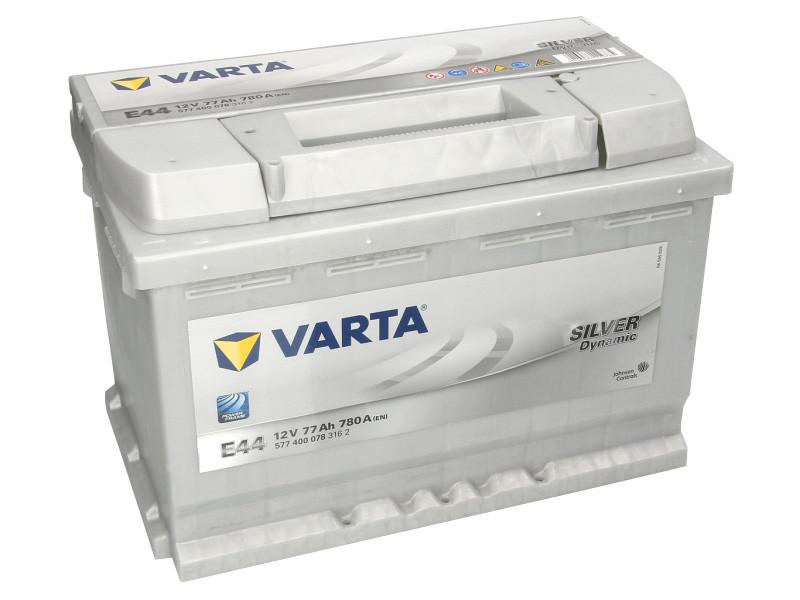 Аккумулятор VARTA SD 77Ah EN780 R+ (E44)