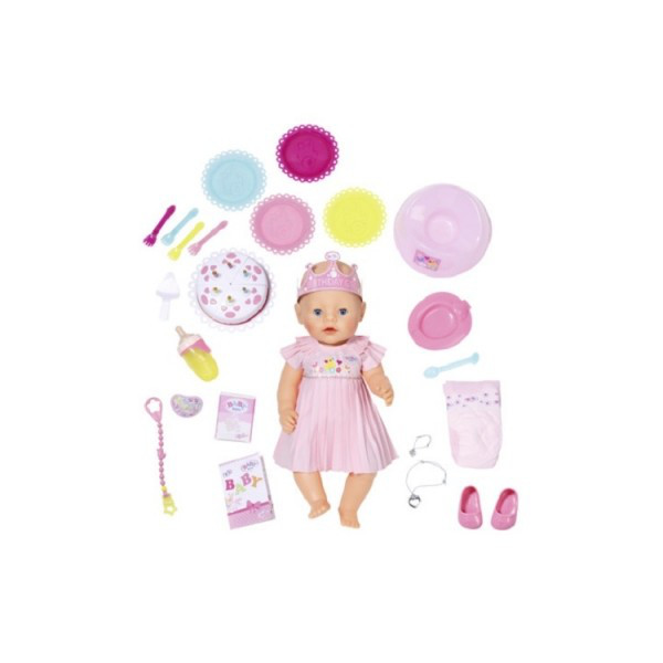 Кукла BABY BORN Весёлый день Рождения 43 см с аксессуарами