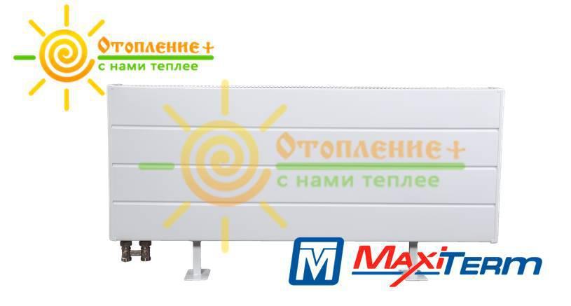 Радиатор MaxiTerm КНК-2Н-1500 стальной, трубчатый, нижнее подключение