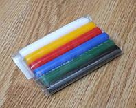 Полимерная глина 6 шт. набор пластика цветная полімерна пластилин для лепки пластилін