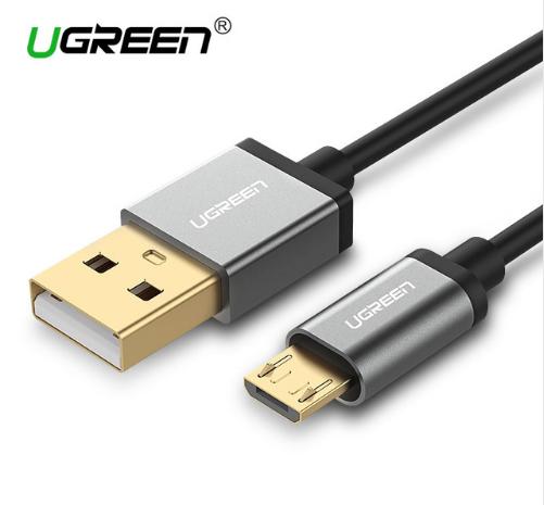 Ugreen Кабель Micro USB 5V2A с алюминиевым корпусом