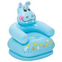 Детское надувное кресло Intex 65x64x74 cм (68556)