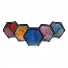 Гвозди ART-PIN Гексагон пластик 22х19х5см