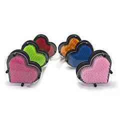 Гвозди ART-PIN Сердце пластик 17х18,5х4см
