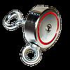 Пошуковий магніт двосторонній РЕДМАГ сила 600 кг