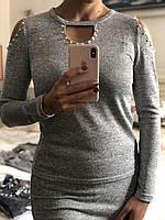 Стильный женский костюм, кофта с открытым плечом, разных цветов, S,M,L р-ры, 340/310 (цена за 1 шт.+ 30 гр)