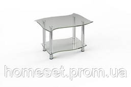 Стекляный столик Волна