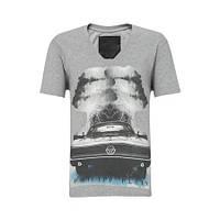 Оригинальная мужская  футболка PHILIPP PLEIN с надписями