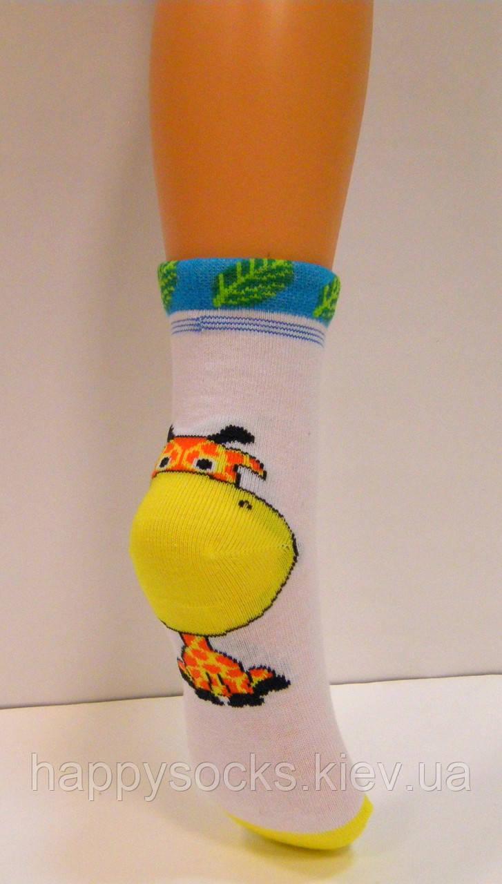 Хлопковые детские носки с объёмным рисунком